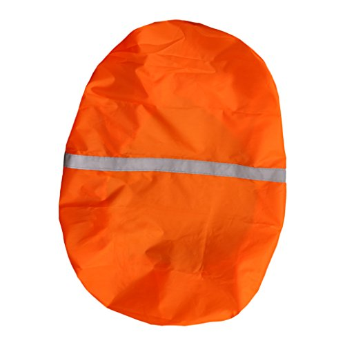 Homyl Raincover for Backpacks 60L-90L - große Regenhülle für Rucksäcke - Rucksack Regenschutz - Orange