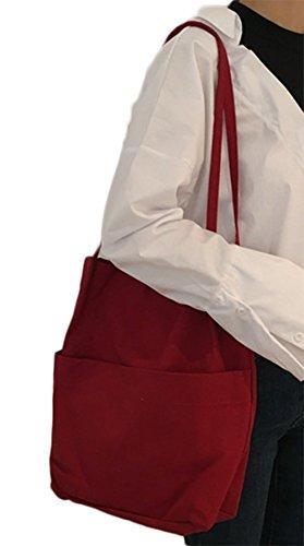 LAAT , Damen Schultertasche Wie abgebildet 34*36*6 rot