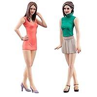 Hasegawa FC04 1/24 Fashion Girls, 2 Bausätze Model kit