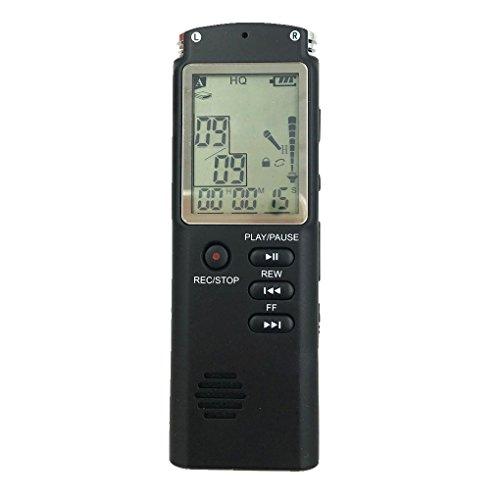 Provide The Best Mini USB Professional Großbild Dictaphone Digital Audio Voice Recorder-Taktgeber mit WAV-MP3-Player