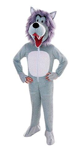Bristol Novelty CC005 Wolf Kostüm mit großem Kopf