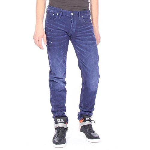 G-star - 3301 low tapered uomo imperial blu 40/36