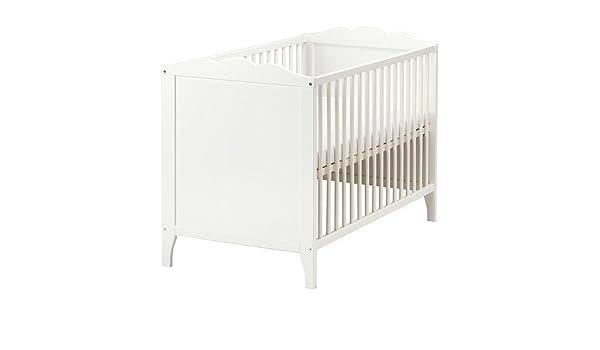 Ikea Hensvik Babybett In Weiss Amazon De Kuche Haushalt