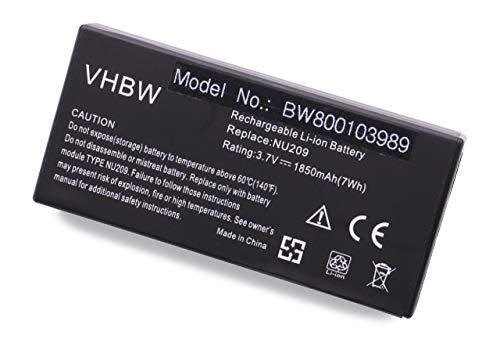 vhbw Batterie de Secours Li-ION 1850mAh (3,7 V) pour Dell PowerEdge 1900, 2900, 2950, 6950, 840, H700, R410, R610, T410, T710, PowerVault NX300, etc.