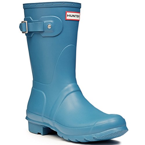 Hunters – Original Short Gloss Gummistiefel, Unisex (Paon Lumineux)