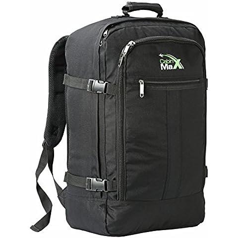 Cabin Max Zainetto bagaglio a mano/da cabina, 44 litri, dimensioni approvate 55x40x20 cm su voli IATA