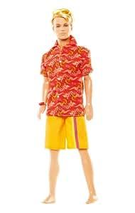 Mattel - L9548 - Poupée - Barbie - Ken Eté Tropical