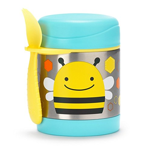 Skip Hop Zoo Bee - Termo alimentos tenedor-cuchara