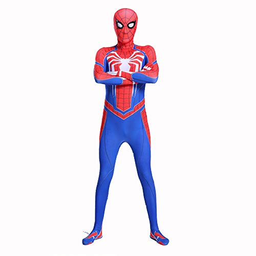 Blue Flash Kostüm - YXIAOL Spider-Man Superheld Cosplay Kostüm, Anime
