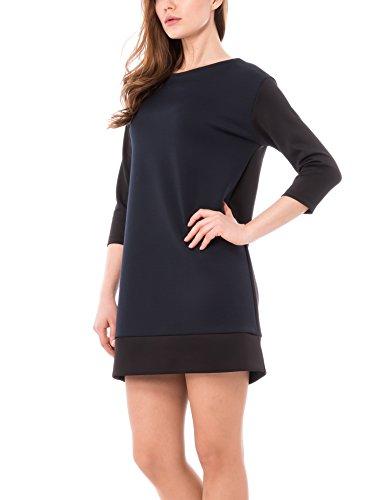 Solo Capri - Vestito da donna Multicolore (Nero/Blu)