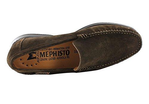Mephisto Henri Velours 9851 Dark Brown, Mocassins Homme Marron f