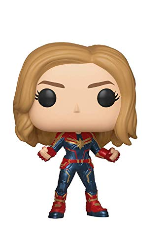 Funko 36341 Bobble Captain Marvel: POP 1, Multi color [Styles may vary]