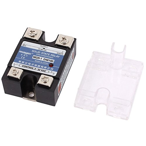 D48100 DC 3-32V AC 24-480V 100A Single Phase Solid State Relais -