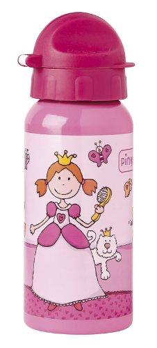 sigikid, Mädchen, Trinkflasche mit Drehverschluss 0,4 l, Pinky Queeny, Pink, 24482 (Baby Spülmaschine Flasche)