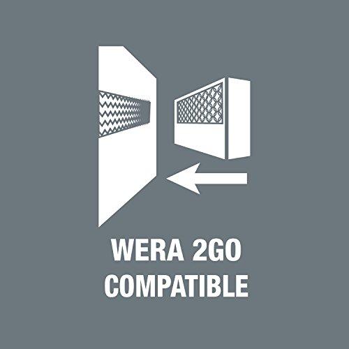 """Wera 05003883001 Belt 4 Zyklop Steckschlüsseleinsatz-Satz, 1/4""""-Antrieb, 9-teilig"""