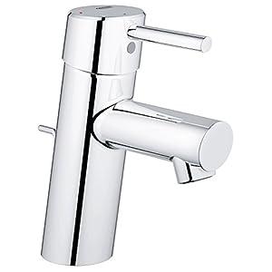 Grohe Concetto – Grifo para lavabo con vaciador 28mm Silkmove Tamaño S Ref. 2338010E