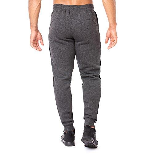 SMILODOX Herren Jogginghose Slack | Trainingshose für Sport Fitness Gym Training & Freizeit | Sporthose - Jogger Pants - Sweatpants Hosen - Freizeithose Lang Anthrazit