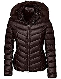 dd5ac7f3dd3 Pikeur Tabelle Womens Premium Down Filled Coat - Coffee Bean
