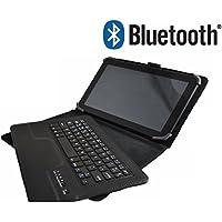 """Funda con Teclado Bluetooth Extraíble para Tablet Huawei Mediapad 10 link 10.1"""" - Color NEGRO"""