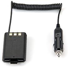 Auto Batterie Eliminator DC 12V Schwarz für Handfunkg?erät BaoFeng UV-5R