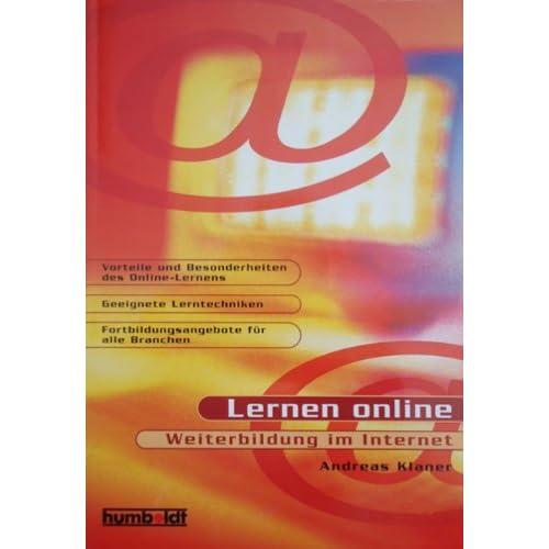 Humboldt Taschenbücher, Lernen online, Weiterbildung im Internet (Livre en allemand)