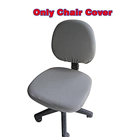 Fittoway Spandex Universal Computer Office Desk Chair Covers Stretch Rotating