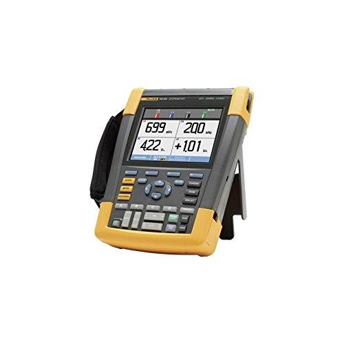 Fluke 190-204/EU/S, de mano de 4canales osciloscopio, Ancho de banda 200MHz, Scope metros® 190Serie II, incluye software Case Kit scc2