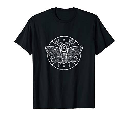 Occult Witchcraft Baphomet Gothic Schmetterling - Okkulte T-Shirt -