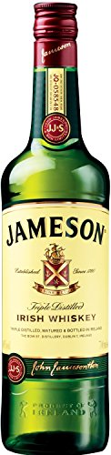 Jameson Original Irish Whiskey – Blended Irish Whiskey mit Jameson Single Irish Pot Still Whiskeys und Grain Whiskeys – 1 x 0,7 L