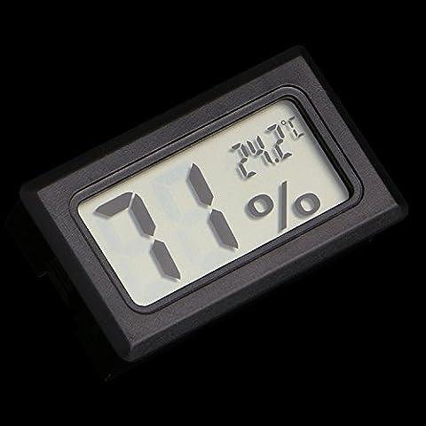1 PCS Mini higrómetro inalámbrico Humedad Temperatura Termómetro Medidor