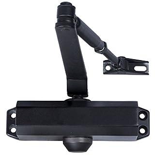 Ansamer–Feder Türschließer Verbindungsmitteln schwarz ohne Halter–27450