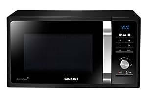 Samsung MG23F302TAK Forno a Microonde 800 W, Grill 1100 W, Capacità 23 L, Colore Nero