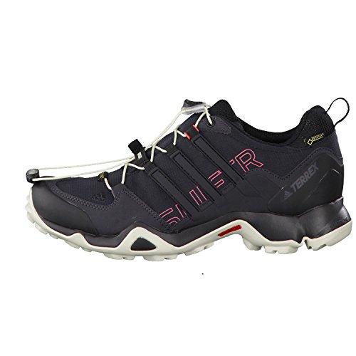 adidas Terrex Swift R Gtx W, Scarpe da Arrampicata Basse Donna Nero (Core Black/core Black/tactile Pink)