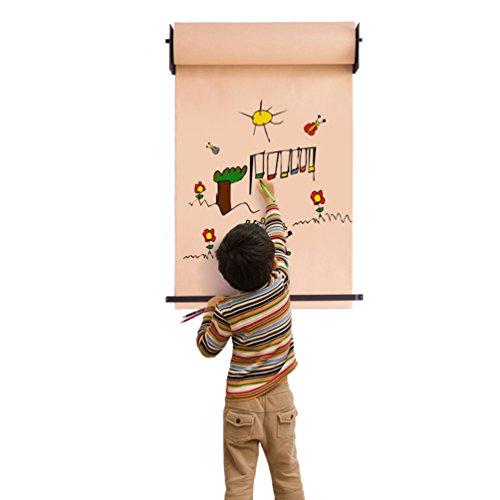 Baoyouni Kinder Spielzeug hängenden Staffelei Kinder Erwachsene DIY Zeichnung Roller Tapeten und Iron Frame Home Decor für Atelier, Wohnzimmer, Schlafzimmer, Cafe Shop Studie -