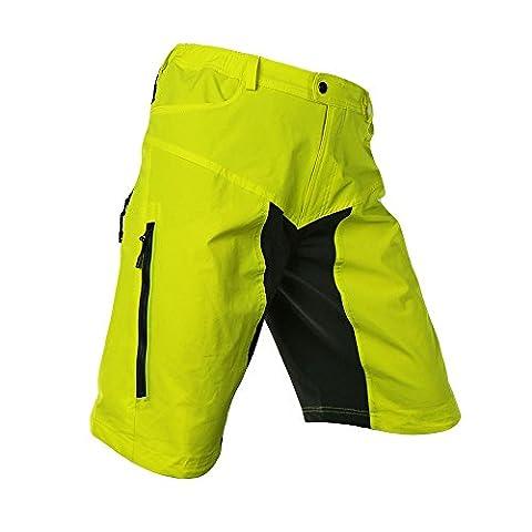 Lixada Herren Outdoor Sport MTB Hose ohne Sitzpolster (Gelb, L(CN))