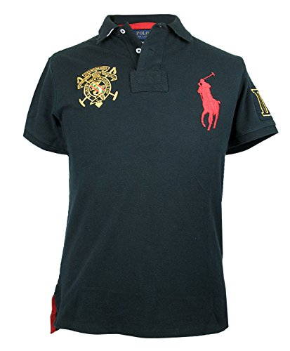 da-uomo-ralph-lauren-big-pony-polo-maniche-corte-custom-fit-cotone-top-s-xxl