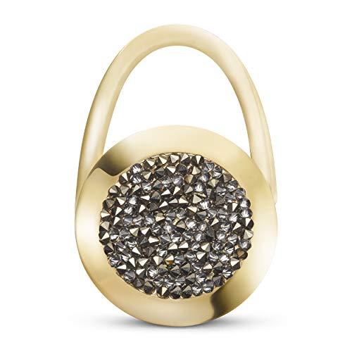 taeshy Glam metallic Original Handtaschenhalter Crystals by Swarovski® - Handmade in Germany.