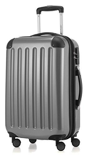 Hauptstadtkoffer coque série alex valise à roulettes 42 l-serrure brillant 20 reisegutschein ..., argent (Vert) - 34761970