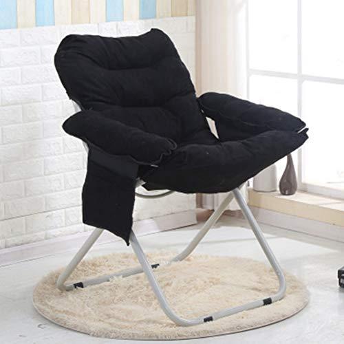 VIVOCC Verstellbar Mond Untertasse Stuhl Freizeit, Abnehmbare Waschen können Sofa Sessel Lounge Für Camping Pool Beach Home Office Schlafsaal-B 66x60x91cm(26x24x36inch)