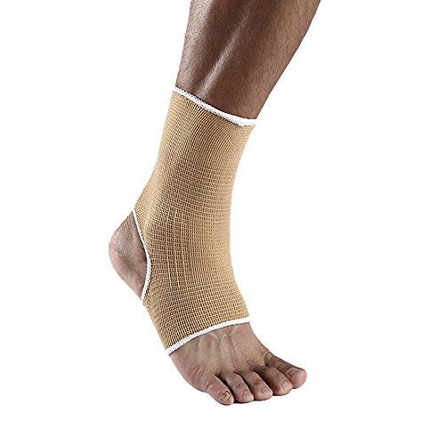 One Paar atmungsaktiv Knöchelbandage mit Kompression Unterstützung für Balance Fragen Fuß Support Bandage One Größe verstellbar beiger -
