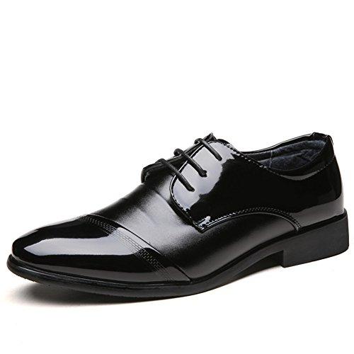 Eleganti scarpe stringate basse uomo scarpe uomo in pelle classiche