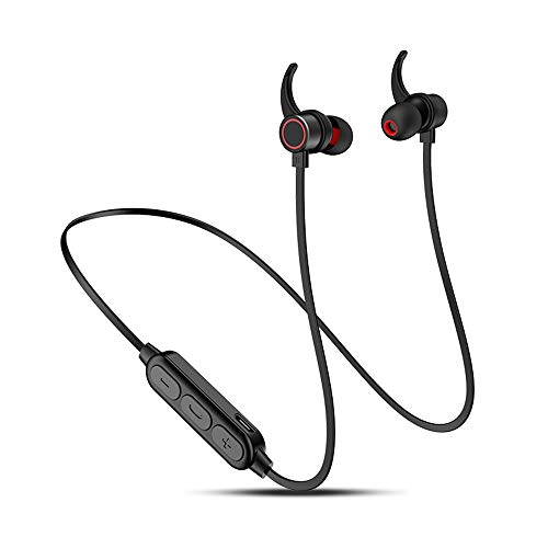 YUGKDFJ Cuffie Sportive Bluetooth Sport Wireless con Auricolari in-Ear Auricolari biauricolari Stereo per telefoni cellulari