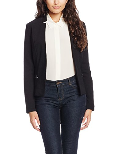 ONLY Damen Onlmadeline Blazer Jacket AW Otw Noos, Schwarz (Black), 40