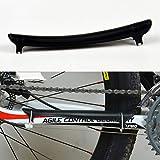 Kongqiabona Marco de Cadena de Bicicleta Funda Protectora Bicicleta Engranaje Protector Bicicleta de Marco de Cadena Funda Protectora Accesorios de Bicicleta