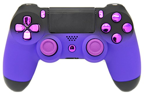 Lila & Schwarz Verblasst Soft Touch Custom PS4 Controller, Exklusives Design, un-modded - Custom-ps4-controller