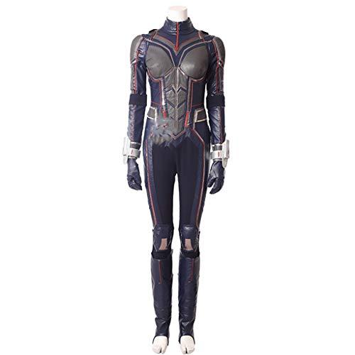 Ameisen 2 Wespen Cos Kostüm Avengers 3 Ameisen Onesies Frauen Cosplay Kleidung Halloween,Grey-XL(173to177)