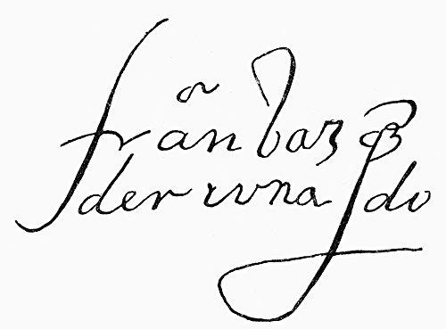 The Poster Corp Coronado: Signature. /Nautograph Signature of Francisco Vasquez De Coronado. Kunstdruck (60,96 x 91,44 cm)
