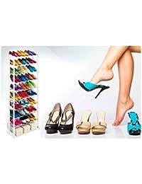 MWS417 - Zapatero amazing 30 pares nuevo ahorro de espacio organizador del armario