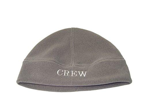 MOTIVEX Mütze, Beanie aus Polartec Fleece Farbe: grau, Aufschrift: CREW (Crew Beanie)
