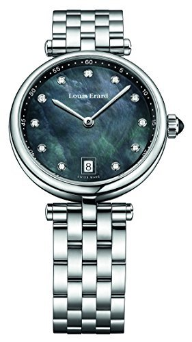 Louis Erard Romance Collection Quartz MOP Dial Womens Watch 11810AA19.BMA24